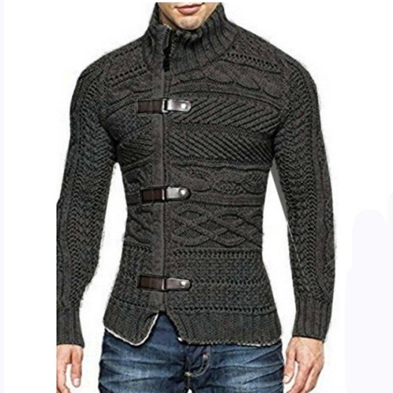 2018 Herbst Winter Pullover Männer Casual Lose Einfarbig Kopf Rundhals Stricken Männer Gute Qualität Weiche Männer Pullover Mzm556