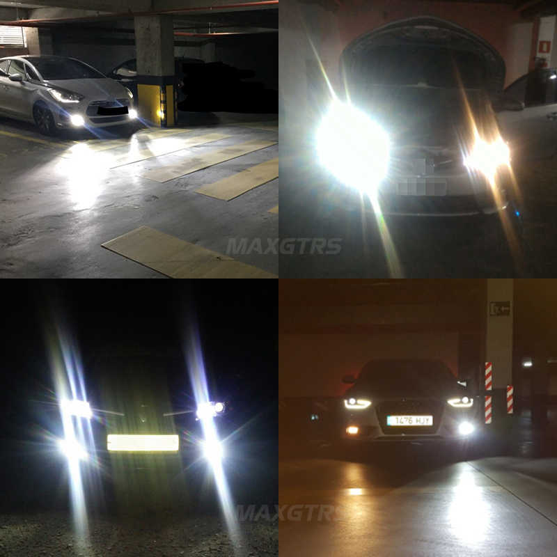 MAXGTRS Car LED Headlight H1 H3 H7 H4 LED H8/H11 HB3/9005 HB4/9006 9012 880 881 CSP Chip 80W Canbus Auto Bulb Headlamp Light