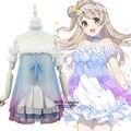LoveLive! Cosplay Costumes Love Live Kotori Minami Fancy Dress Complete Uniform Start dash!! Women Blue Clothes