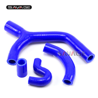 For KTM 400 450 530 XCR W EXC R XC W Motorcycle Silicone Radiator Hose Kit Heater Engine Water Pipe