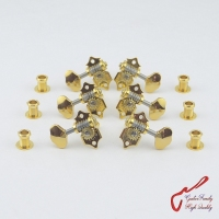 1 Set Original Genuine L3+R3 GOTOH SXN510 06M Open Gear Guitar Machine Heads Tuners ( Gold ) MADE IN JAPAN