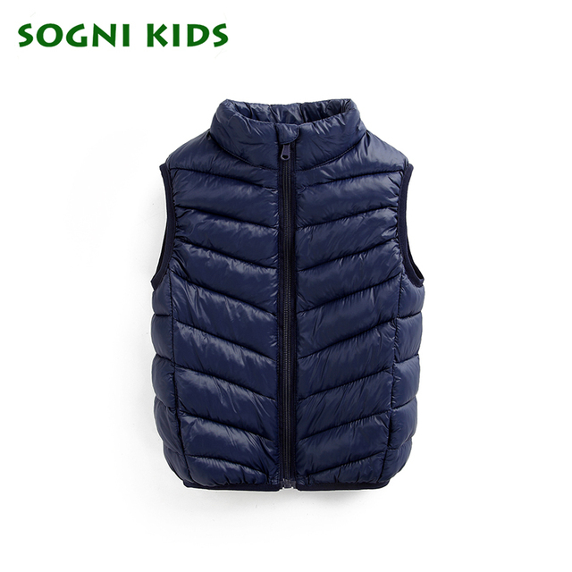 1-10 years Cotton Vest for Baby Girls Boys Winter Waistcoats Fashion Solid Jacket Children's Clothing Top Sleeveless Outerwear