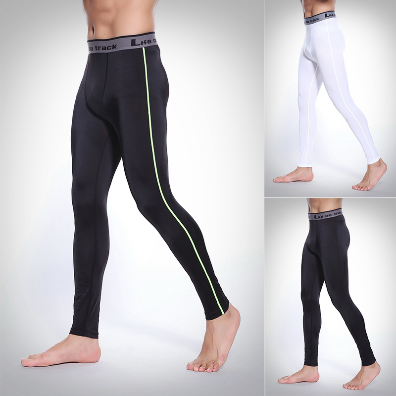 Men Compression pants Base Layer Skin Tight for MMA Fitness