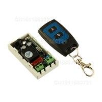 Best Price AC 220 V 1CH Wireless Remote Control Switch System Receiver 2 Keys Waterproof Remote