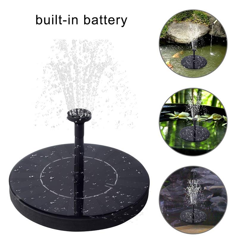 Led Solar Power Water Pump Fountain Automatic Colorful For Garden Lake Fish Pond Pool Hg99 Buy One Get One Free Watering & Irrigation Garden Supplies