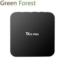 ใหม่TX5 P Ro 2กรัม/16กรัมAndroid 6.0กล่องทีวีAmlogic S905X HD 4พันอย่างเต็มที่KODI 16.1 Quad core Media Playerทีวียอดนิยมชุดกล่อง