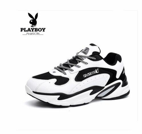 Playboy мужской обуви 2018 Новинка осени Корейская версия обувь для мужчин и женщин обувь, плотно сидящая на ноге молодежь студенты пара спортивн...