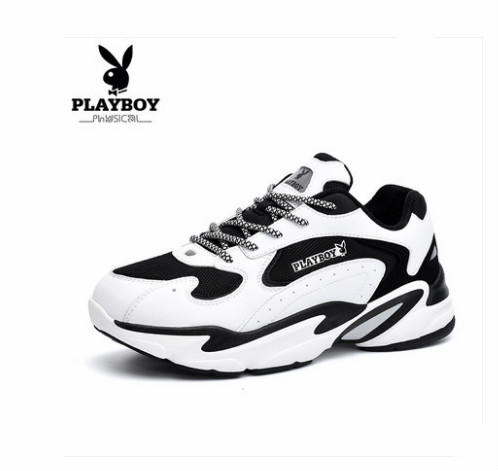 Playboy male shoes 2018 autumn new Korean version of men and women tide shoes youth students couple sports shoes