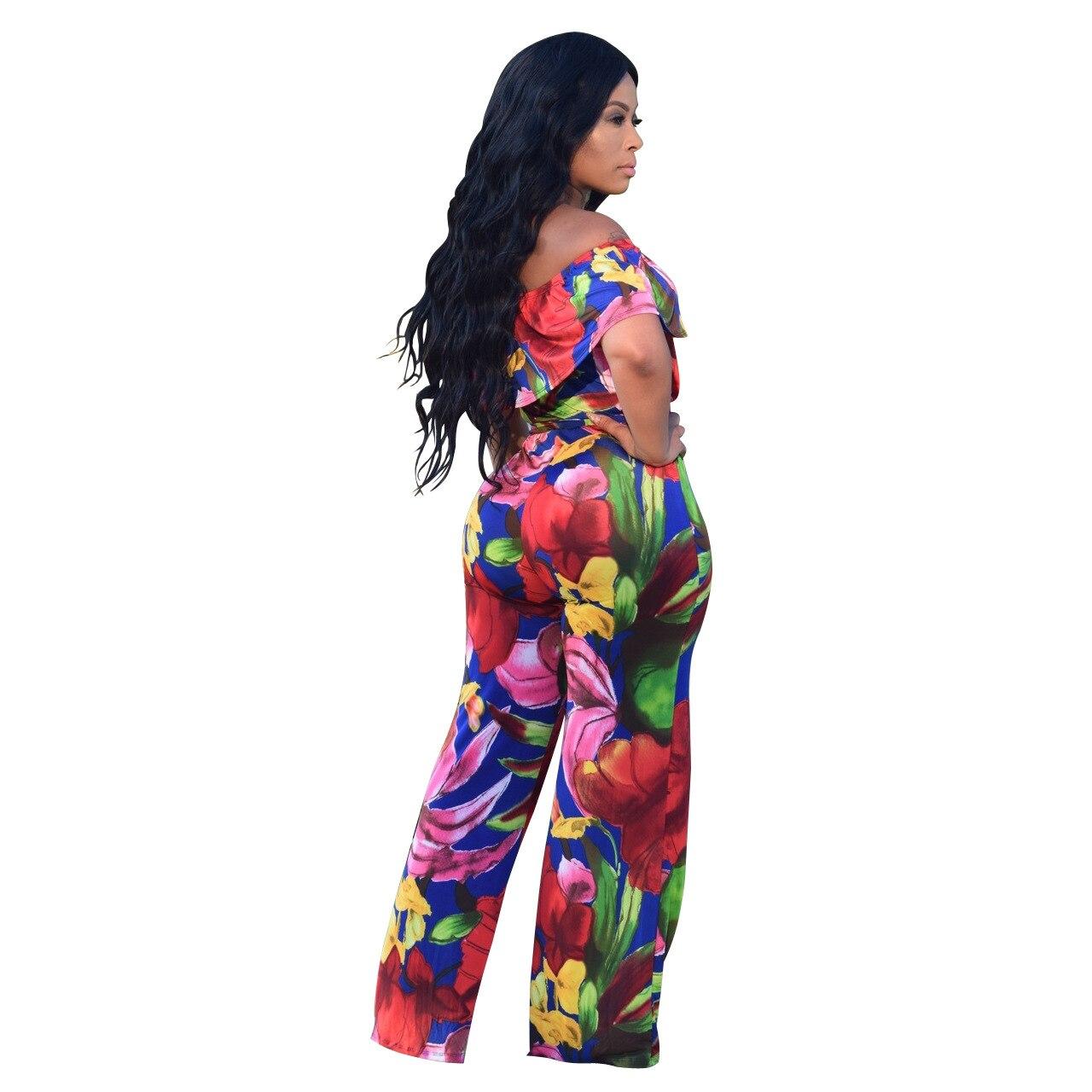 Aliexpress.com Acheter Sari Coton Sari Inde Femmes Robes Indiennes 2017  Vent Chaud De Mode Numérique Impression Large Jambe Pantalon Siamois Halter