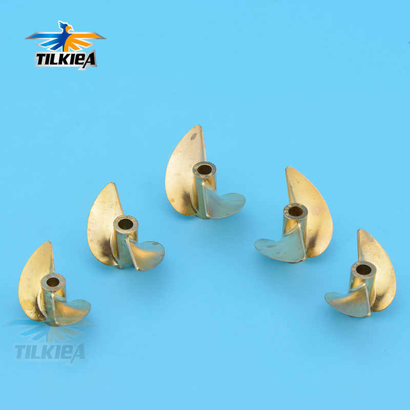 Positive 3//16/'/' Reverse Screw 2 RC Boat D36//40//42//45mm Propeller 4mm//4.76mm