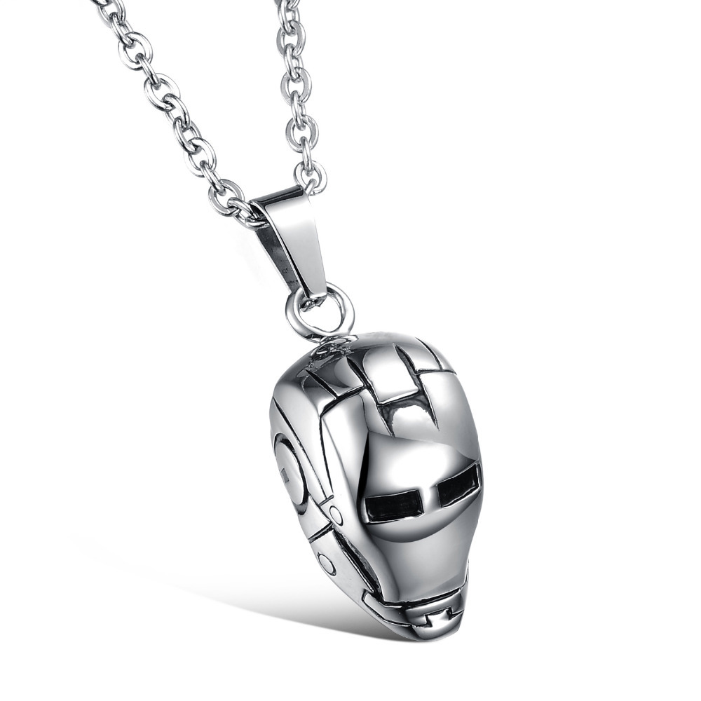 Necklaces men stainless steel men necklace fashion pendant necklaces men stainless steel men necklace fashion pendant necklace w skull rock cool men jewelry christmas gift wholesale 928 in pendant necklaces from mozeypictures