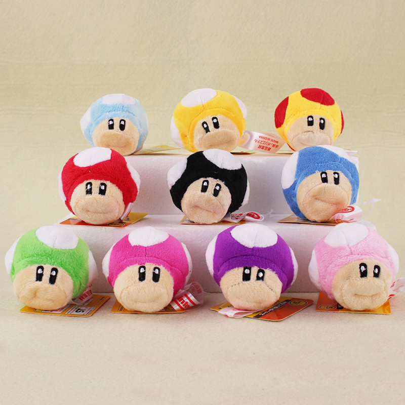 Japan Anime Super Mario Pendant 6cm Mini Mario Bros Luigi Yoshi Mushrooms Cartoon Game Keychain Toys Action Figures Toys