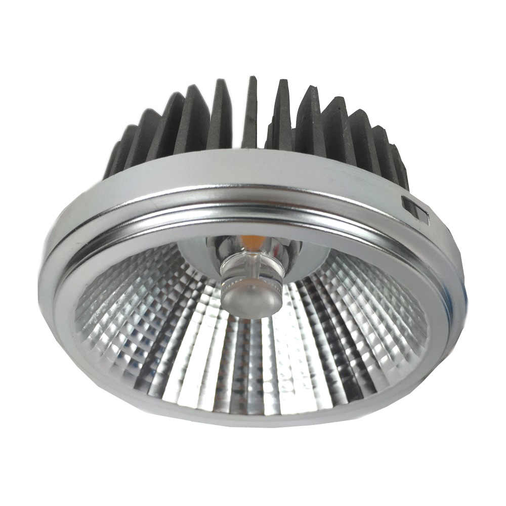 12W 18W 30W Dimmable AR111 LED Spotlight Commercial LED Retrofit Light for Grille Lamp Aluminum alloy Body Pure AL. Reflector
