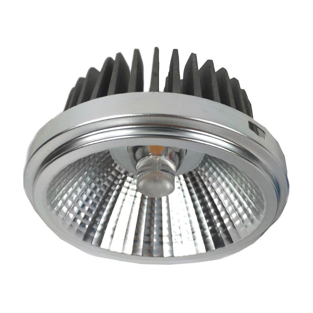 12 w 18 w ar111 30 w pode ser escurecido led spotlight comercial levou luz retrofit