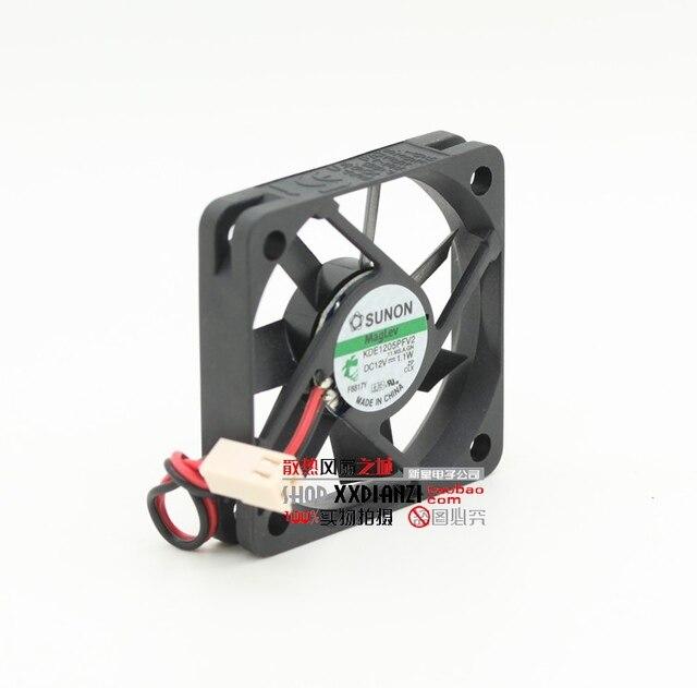 5 CM 5010 12 V 1.1 W KDE1205PFV2 3 fios interruptor do ventilador do dissipador de calor