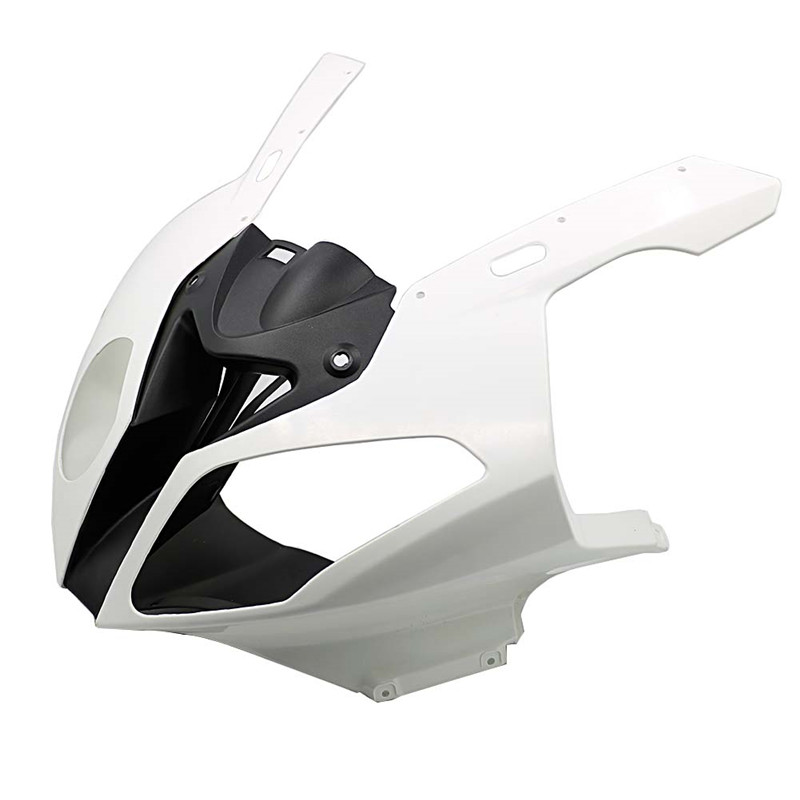 Unpainted Injection Head Fairing Front Upper Nose headlight Cowling For BMW S1000RR S1000 RR S 1000 RR 2010 2011 2012 2013 2014 image