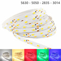 DC 12V RGB LED Strip 5050 5630 2835 3014 Not Waterproof Tira LED Light Flexible 5M 4M 3M 2M 1M 0.5M Neon Lamp Fita LED 12V Tape