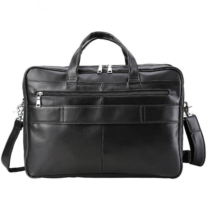 Business Napa Herren Für Reise tasche Aktentasche Europen 17 Classic Tasche Büro Tiding Mit Laptop Kuh Zoll Handtasche Großer Kapazität Leder Black 1225 qf5YxwX