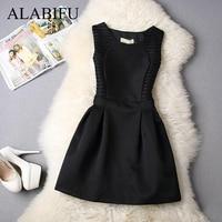 2691b16a9f4 ALABIFU Women Summer Dress 2019 Plus Size 5XL Casual Sexy Sleeveless A-line  Lace Short