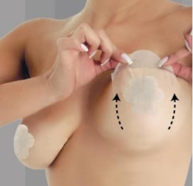 (1pack/6sets)Bring It Up invisible sin bra tape instant breast lift &adhesive nipple cover as lady cleavage shaper AS SEEN ON TV массажер as seen on tv грелка для ног