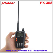 Hot Sale Walkie Talkie Puxing PX-358 UHF 400-470MHz Portable Two-way Radio FM Transceiver