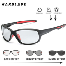 Photochromic Polarized Sunglasses Men Classic Pilot Metal Fr