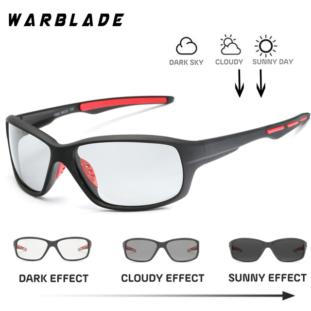64664c35f24 Photochromic Polarized Sunglasses Men Classic Pilot Metal Frame Sun Glasses  Women Chameleon Day Night Driving Sunglass