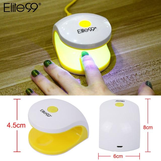Tienda Online Elite99 2 W temporización secador de uñas mini LED UV ...