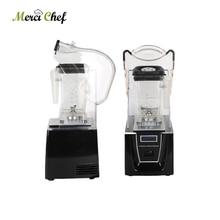 1.5L 1800W Commercial Blender Mixer Juicer Power Food Processor Smoothie Bar Fruit Electric Blender Quality Ice Crusher With Jar