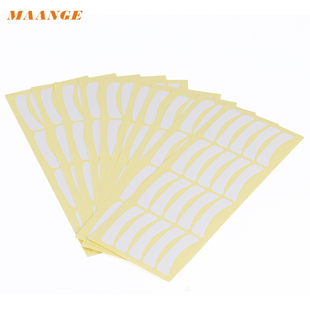 2018 Hot 100 Pairs Under Eye Pads Stickers Patches For Eyelash Extensions Sticker Makeup Tool Eyelashes Extension dropshipping