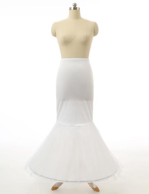 Maphia Wedding Petticoat Bridal Free Shipping Top Quality in Stock Net White Mermaid Flower Girl Dress  / Child Crinolines