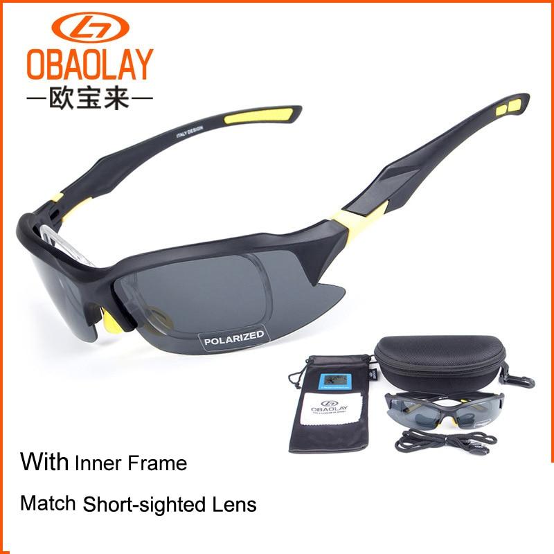Prix pour OBAOLAY SP0879 PC Coupe-Vent Anti-UV Polarisées Lunettes pour Sports de Plein Air Équitation Lunettes Lunettes de Vélo De Pêche Escalade lunettes de Soleil