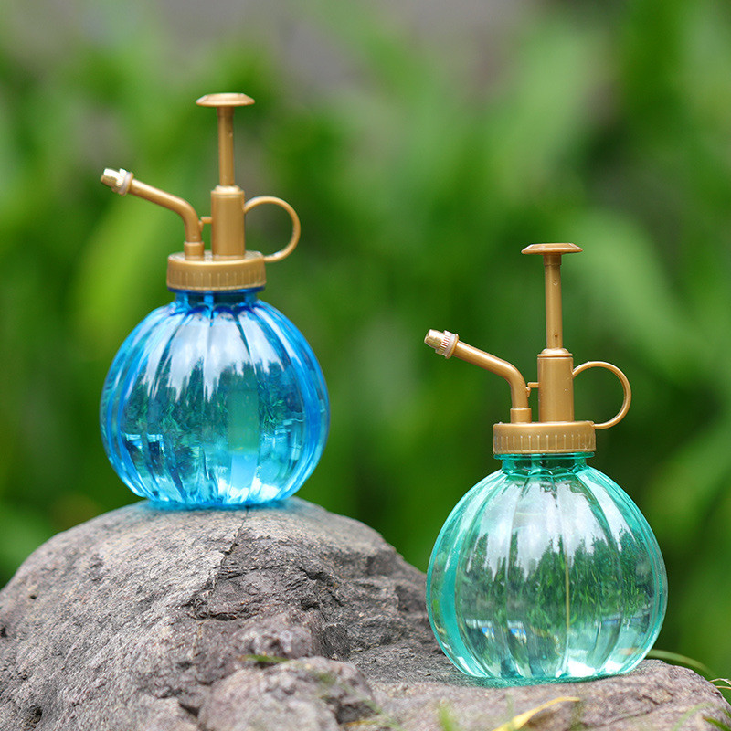 Retro Plant Flower Watering Pot Glass Spray Bottle Garden Mister Sprayer Pot
