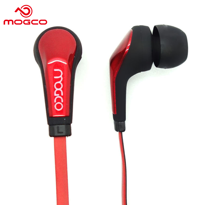 MOGCO IE-M2 In-ear Earphone With Microphone Noise-Cancellation Wired Headset Stereo Bass Earbuds Computer Earphone For Phone MP3