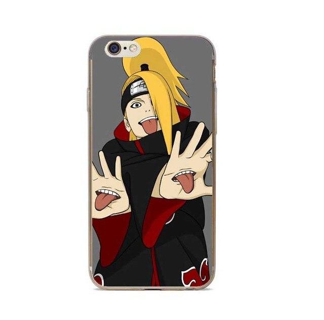 Naruto Akatsuki Clan Cloud Symbol Cover for iPhone