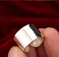 Handmade 925 Silver Ring Real Silver Man Ring Vintage Sterling Silver Ring adjustable