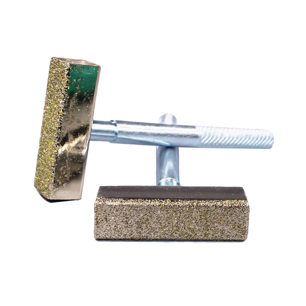 Electroplating Diamond T-shaped Grinding Disc Wheel Stone Dresser Tool Dressing Bench Grinder Grinding Tool