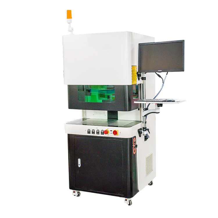 Mobile Cover Making Machine Fiber Laser Marking Price For Metals Plastic