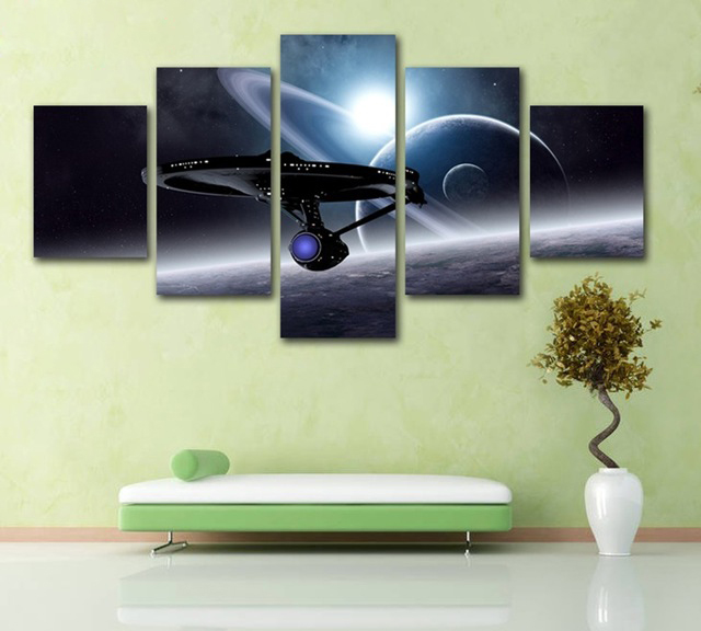 5 Panels HD Print Painting on Canvas Wall Art Home Decor The ...
