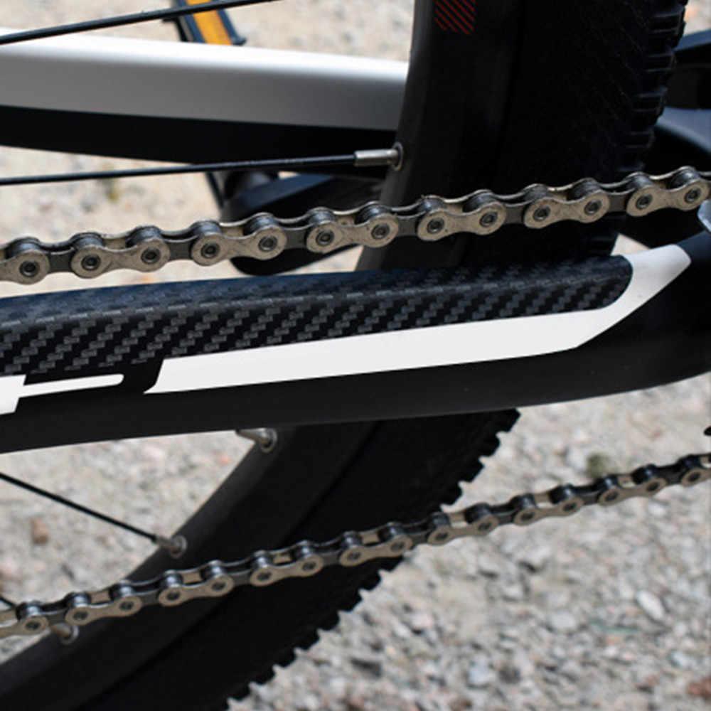 Mtb bicicleta chainstay amp quadro scratch protector bicicleta adesivo de proteção colar anti risco acessórios # zh