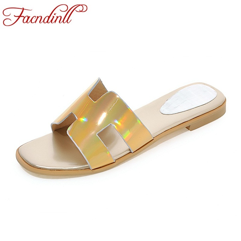 2018 new fashion patent leather summer shoes sexy open toe women sandals dress shoes woman gladiator sandals big size flip-flops phyanic 2017 gladiator sandals gold silver shoes woman summer platform wedges glitters creepers casual women shoes phy3323