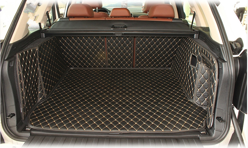 Good quality Special car trunk mats for BMW X5 F15 2017 2013 waterproof cargo liner boot