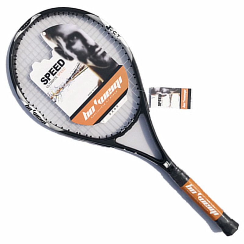 2019 New High Quality Aluminum Alloy Carbon Tennis Racket Carbon Fiber Men and Women Ultra Light Coach Recommended Training