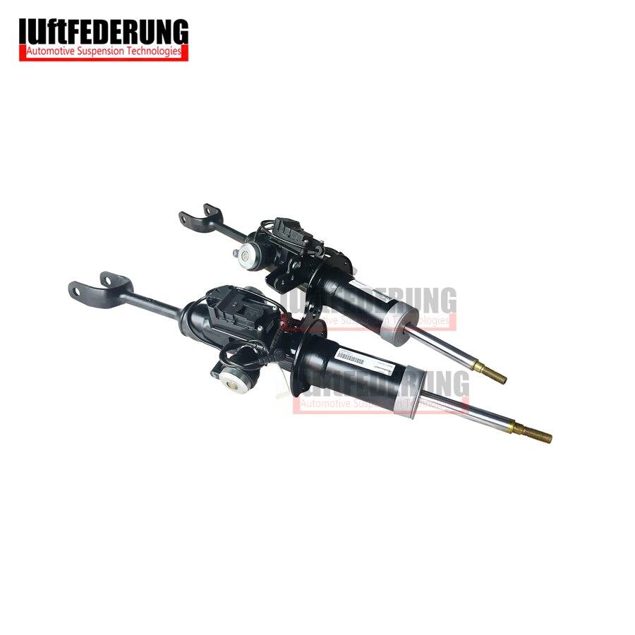 Luftfederuhhng New 2008 Suspension Spring Damping VDC Front Srping Strut Fit BMW F02 37116796926 37116796925