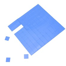 Gdstime 1000pcs/lots 10 x 1mm  Blue Conductive Thermal Pads Pad for VGA CPU IC Chip Heatsink Cooling thickness