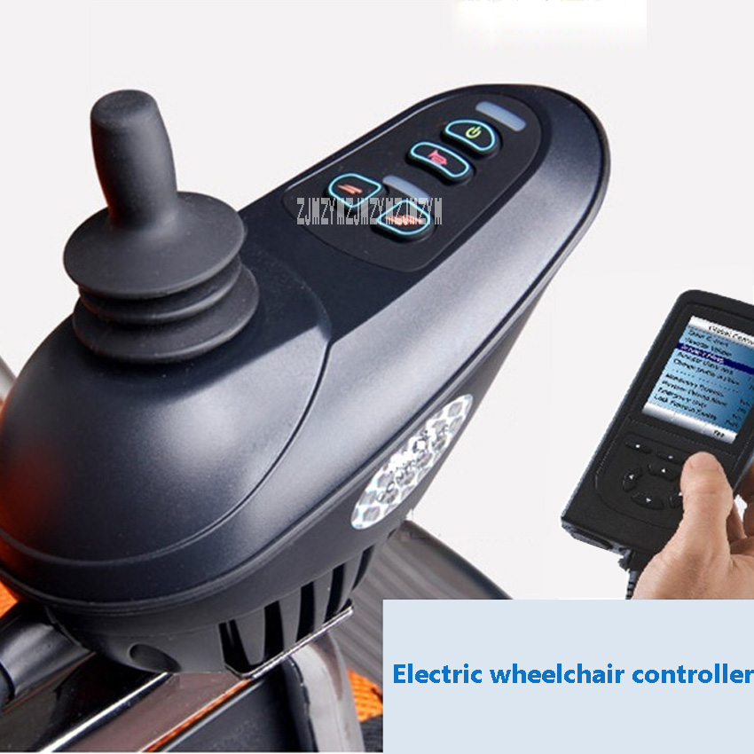 New Arrival DC 24V 50A Universal 360 Degrees Brush Motor Joystick Controller 5 Files Adjustable Electric Wheelchair Controller