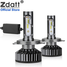 Zdatt H7 LED H4 LED H11 Car Light Headlight Bulb 12000LM H8 H1 HB3 9005 9006 880 H27 H9 100W 6000K 12V 24V Auto HB4 Led zdatt h4 led bulb car light h7 h8 h9 h11 h1 flip led bulb 9005 9006 headlight 100w 12000lm canbus 12v headlamp automobiles 6000k