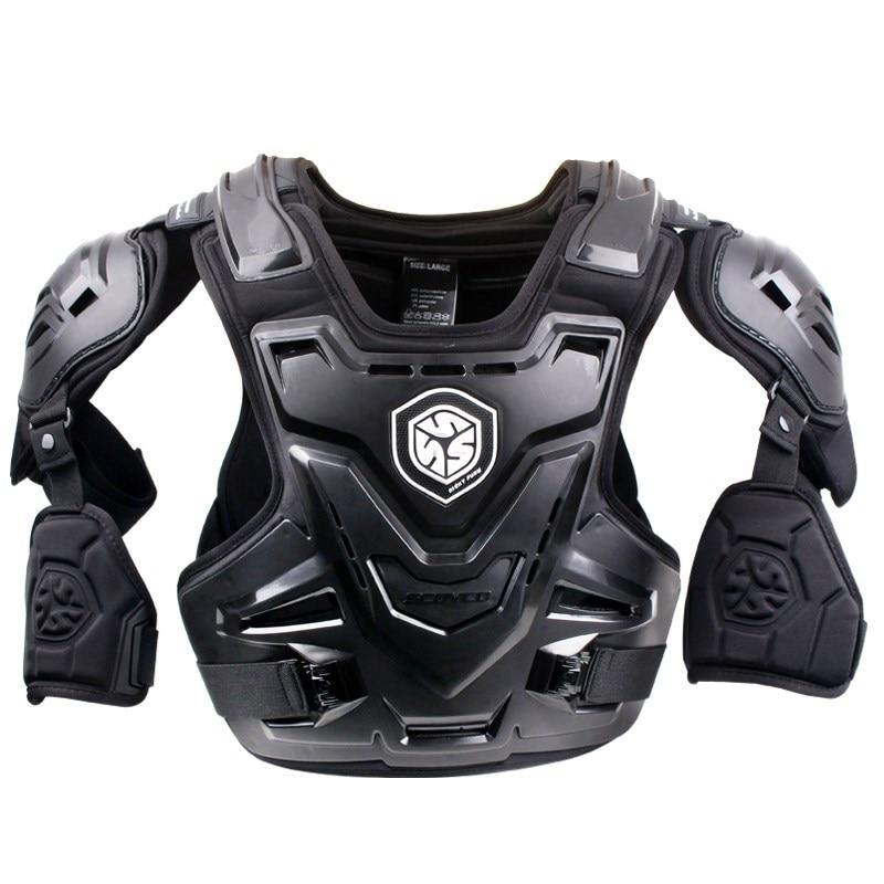 SCOYCO moto CE armure Motocross poitrine dos protecteur MX armure gilet moto veste course protection corps garde armure