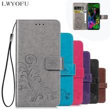Flip cover wallet for LG Q60 K50 Stylo5 K30 k10 K8 2018 G8 thinQ V50 THINQ 5G Q7 Q9 xpower 3 V40 stylo4 case