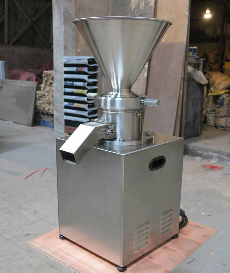 Commercial Colloid Mill Grinder Peanut Butter Maker Machine, Sesame Paste Almond, Chili Nut Butter Making Machine 100-500kg/h